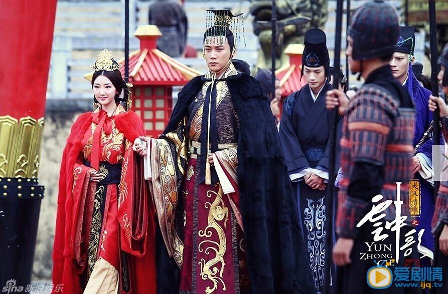 大汉情缘之云中歌杨颖杨蓉剧中颜值担当 被称最美双珠。