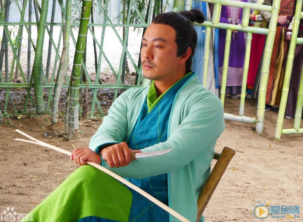 张卫健个人资料简介 张卫健参演《笑傲江湖》绿竹翁剧照