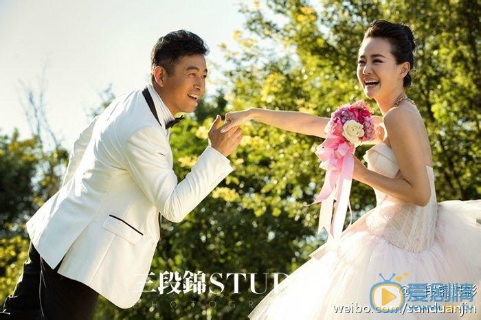 王志飞个人资料简介 王志飞老婆张定涵 王志飞张定涵结婚照